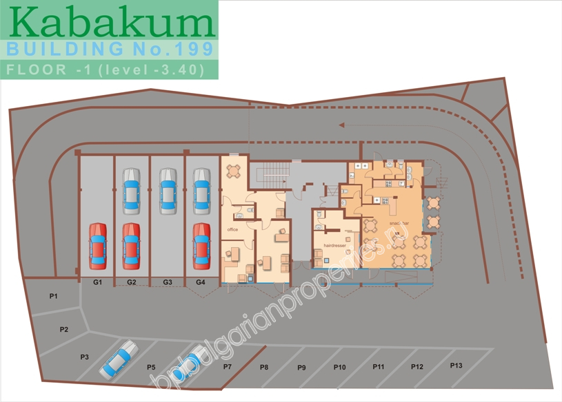 Luxury apartments for sale at the beach in Kabakum Beach Resort near Golden Sands resort